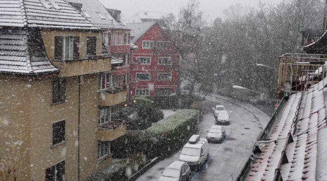 Winter in Zurich for three hours